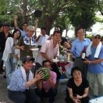 2012年度豊島支部BBQ大会の様子2